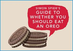 Inspired by Simon Spier's love for Oreos in SIMON VS THE HOMO SAPIENS AGENDA, we created a really simple, easy to follow flowchart that will help you decide whether you should eat an Oreo.