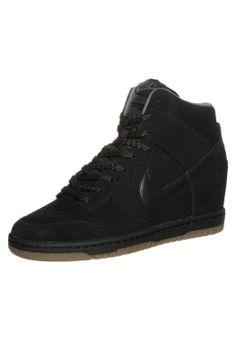 Nike Sportswear Dunk Sky Zapatillas Altas Black Light Ash Grey  CentralMODA.COM
