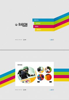 Babon Design Flash CMS Templates by Ares
