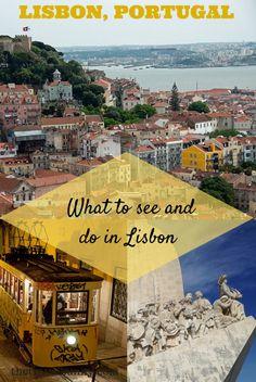 Lisbon photo montage