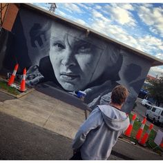 by Guido van Helten - Melbourne, Australia - Apr 2015