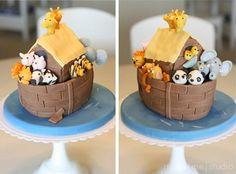 Noahs Ark Cake Tutorial