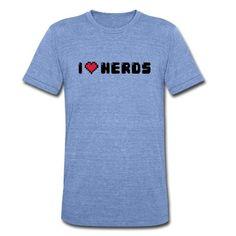 b942bda32 I Love (heart) Nerds / Cool Geek Statement /slogan de badbugs |  Spreadshirt. Tee shirt ...