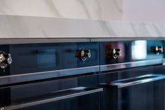 close up of the stunning chunky benchtop, built to last by KMD Kitchens Kitchens, Kitchen Appliances, Auckland, Stove, Building, Diy Kitchen Appliances, Home Appliances, Range, Buildings