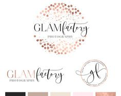 Watercolor Logo Design / Custom Logo design by MacaronsandMimosas