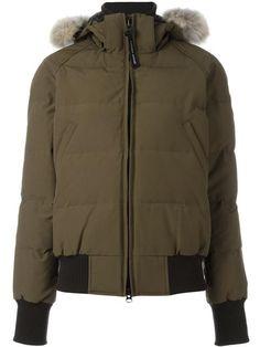 CANADA GOOSE Hooded Padded Jacket. #canadagoose #cloth #jacket