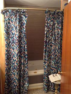 Shower curtain done! Jan2015