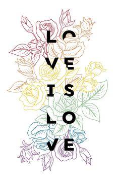 """Love is Love"" by Katalin Bártfai | Redbubble"