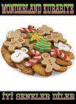 Wonderland Cookie's: Yılbaşı ve Doğum günü için özel kurabiye