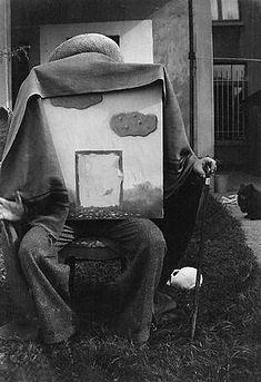 René Magritte (1898-1967) 'God, The Eighth Day' 1937