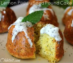 ~LEMON POPPY SEED POUND CAKE!  MAKE IT > http://www.ohbiteit.com/2012/07/lemon-poppy-seed-pound-cake.html To order SKINNY FIBER go to:   www.mariehutch.sbcspecial.com  Join my Wellness Group for more weight loss tips, fitness, health,recipes, motivation, fun & friendships https://www.facebook.com/groups/BeHealthyBeHappy1/  Like my Page to see more recipes, weight loss tips, fitness tips, health info, and random humor at https://www.facebook.com/HappyHealthyFitWellness