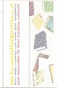 www.kunstgestaltungarchitektur.ch [unten] [Lesezeichen] : Basler Bibliotheken für Kunst Gestaltung Architektur | LibraryThing