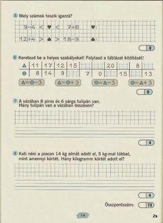Albumarchívum - Matek felmérő mozaik Paper Decorations, Mathematics, Worksheets, Periodic Table, Sheet Music, Archive, Album, Teaching, School