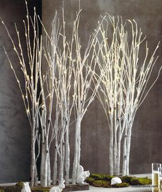 Roost Lighted Birch Forest Tree * Next Day Shipping * – Modish Store