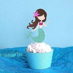 Mermaid Cupcakes | mermaid cupcakes