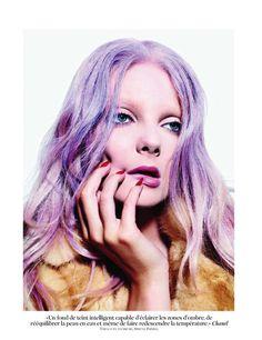Mario Sorrenti - Photographer  Carine Roitfeld - Fashion Editor/Stylist  Recine - Hair Stylist  Aaron de Mey - Makeup Artist  Daniel Adric - Prop Stylist  Eniko Mihalik - Model