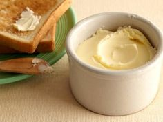 Homemade Butter. Alex Guarnechelli. She adds sour cream for tang - brilliant!  Food Network