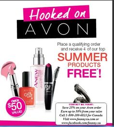 Would you like to receive this FREE bundle and also give one for your friend?  There is more - you will receive $25 cash too!  Call 1-800-280-6823 or e-mail feanny.avon@yahoo.ca or visit www.feannyxu.com #joinAvon #freedom #workfromhome