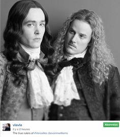 Alexander Vlahos as Monsieur, and Evan Williams as Lorraine
