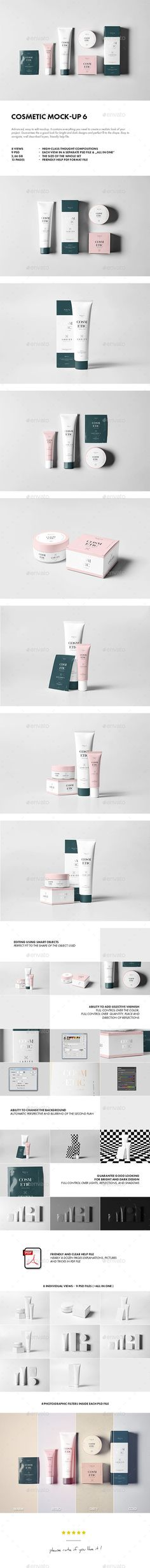 Cosmetic Mock-up #design Download: http://graphicriver.net/item/cosmetic-mockup-6/13078358?ref=ksioks