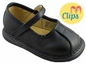 Wee Squeak Black Clip Mary Janes $32.95 http://www.meandmyfeet.com/wee-squeak-black-clip-mary-janes #Infant #Toddler #Child #Kids #Shoes #MaryJane