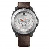 Hugo Boss Orange Herren Uhr Armbanduhr Leder Analog 1512670