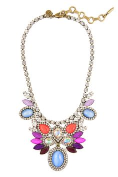 LOLA NECKLACE IN BLOOM @Loren Hope