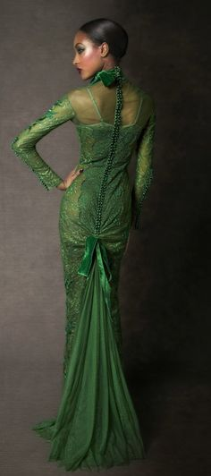TOM FORD Autumn-Winter 2011-2012 Womenswear Collection (2) #green