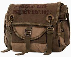 Multifunctional Mens Canvas Travel Crossbody Messenger Bag - My Bag Ideas Mens Canvas Messenger Bag, Bike Messenger Bags, Girls Messenger Bag, Crossbody Messenger Bag, Backpack Bags, Satchel, Tote Bag, Large Messenger Bags, Rucksack Bag