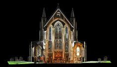 Digital Surveys - Church deformation and movement monitoring using 3d laser scanning