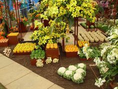 Fruit and Veg, Chelsea Flower Show jigsaw puzzle in Fruits
