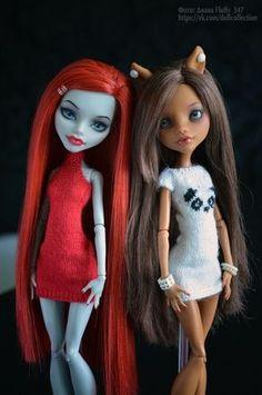Мои куклы МХ :)