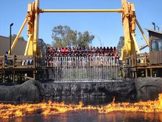 California's Great America 'Firefall'. :)
