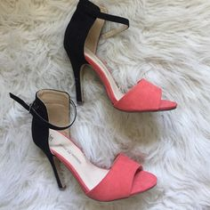 Gorgeous Heels Perfect for the holidays. Never worn Shoes Heels