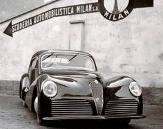 frenchcurious:  Alfa Romeo 6C 2500 Coupe (Bertone) 1942 - Atomic Samba - Facebook