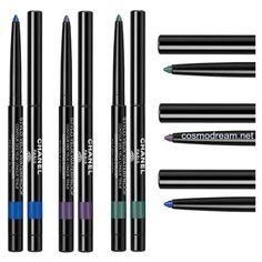Водостойкие карандаши для глаз Chanel Stylo Yeux Waterproof Pencil весна 2016