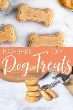 No Bake Dog Treats, Diy Dog Treats, Homemade Dog Treats, Dog Treat Recipes, Peanut Butter No Bake, Organic Peanut Butter, Healthy Baking, Healthy Treats, Banana Treats