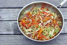 Don't know what to do with that excess #cabbage you got in your vegetable bin…