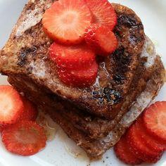 Frühstück einmal anders - mit unserem Schoko French-Toast!
