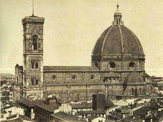 Duomo 1860, ancora senza la nuova facciata