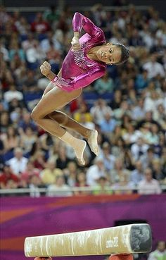 The things gymnast do, what can we say, all it is is an unbelievable love for our sport.