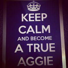 .@vanilladrop007 | #aggielife #keepcalm #trueaggie