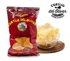 La variedad es la sal de la vida!!! Por eso en Cortijo del Olivar tenemos variedad de sabores, y hoy os presentamos nuestras #patatas sabor #Jamón, tan rico y de nuestra tierra!!  Elige tu sabor y no te resistas!!!