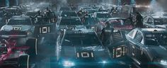 Ready Player One movie still. See the movie photo now on Movie Insider. Ready Player One Trailer, Ready Player One Movie, 2018 Movies, New Movies, Virtual Reality Games, Steven Spielberg, San Diego Comic Con, Movie Photo, Teaser