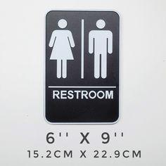 16 Trendy Ideas for hotel door handle drawer pulls Bathroom Wall Stickers, Door Stickers, Bathroom Signs, Restroom Signs, Sliding Bathroom Doors, Sliding Door Design, Entry Doors With Glass, Glass Cabinet Doors, Exterior Door Trim