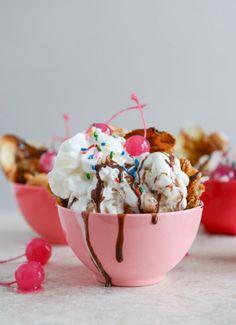 Rainbow Sprinkles + Ice Cream = Sweet Treat Obsession