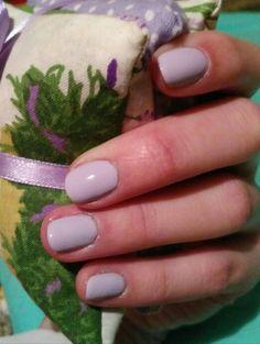 Lavender colour nails, moyra nail polish