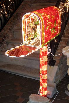 Christmas light wow
