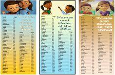 "Caleb & Sophia Name & Order of the Bible! :"")"