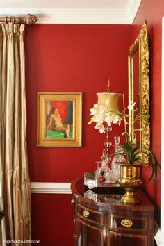 Regal Dining Room - Home Tours brightboldbeautiful.com